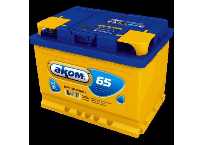 АКБ АКОМ 6CT - 65VL