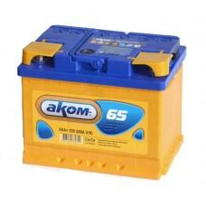 Аккумулятор AKOM 65Ach 12B 520A 6СT-65VL Euro