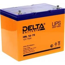 АКБ Delta HRL 12-75 (12V / 75Ah)