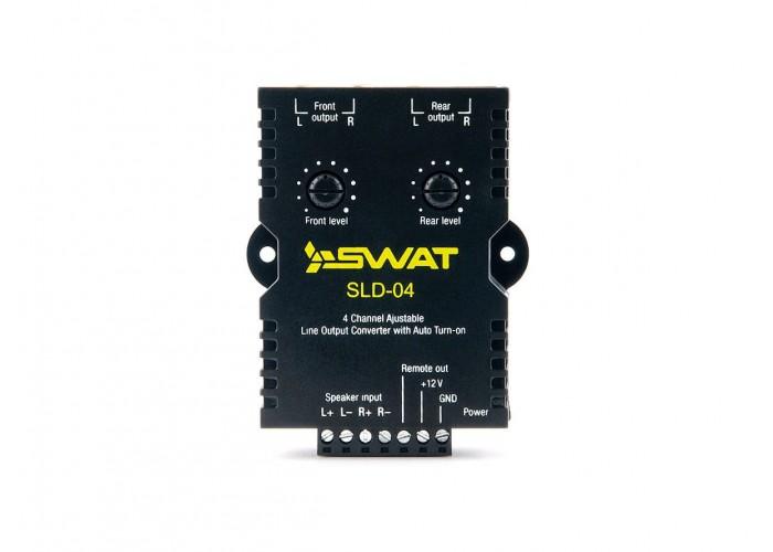 Преобразватель уровня сигнала активный 4-канальный Hi-LOW SLD-04