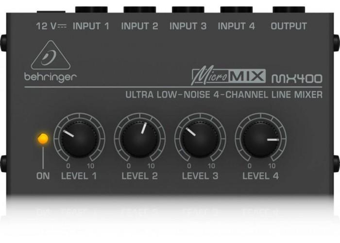 Микшер Behringer MICROMIX MX400