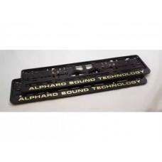 Рамки под номер Alphard