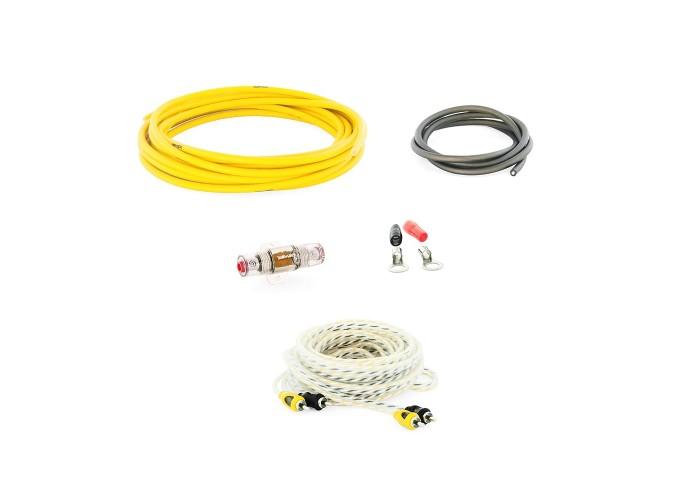 Swat PAC-T10 набор проводов для подключения усилителя 10GA