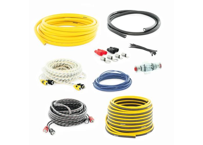 Swat PAC-F4 набор проводов для подключения усилителя 4GA