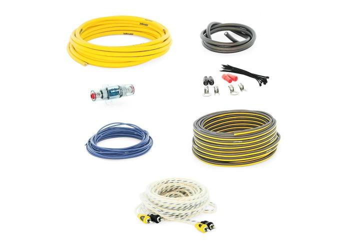 Swat PAC-T8 набор проводов для подключения усилителя 8GA