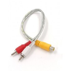 Y-кабель RCA 1F2M