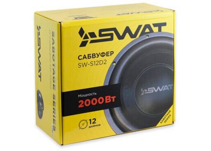 Сабвуфер SWAT SW S12D2