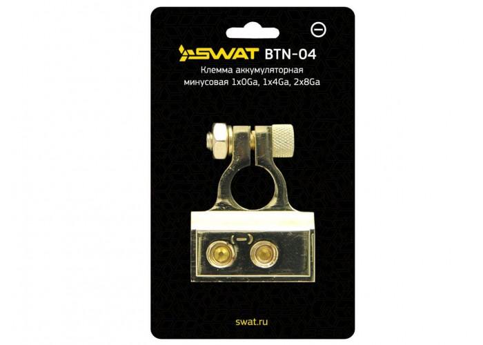 Клемма аккумуляторная минусовая Swat BTN-04