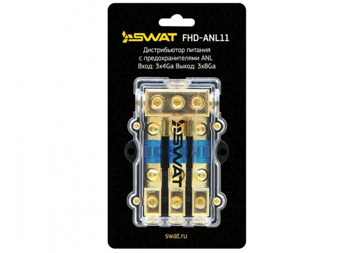 Дистрибьютор питания Swat FHD-ANL11