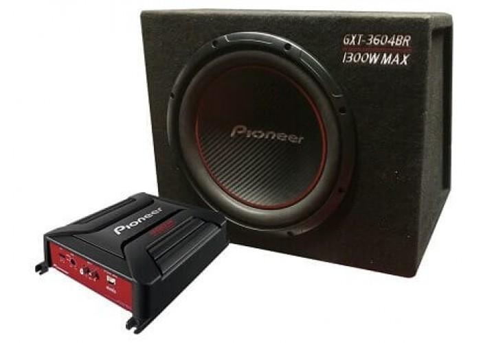 Комплект Сабвуфер+Усилитель PIONEER GXT-3604BR