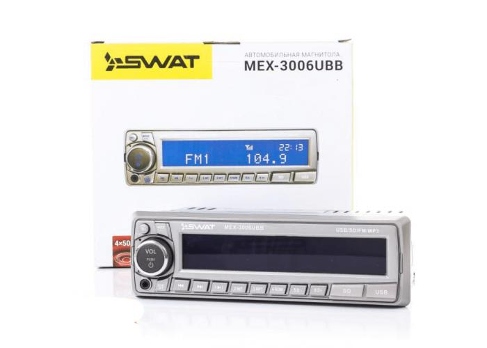 Автомагнитола SWAT MEX-3006UBB