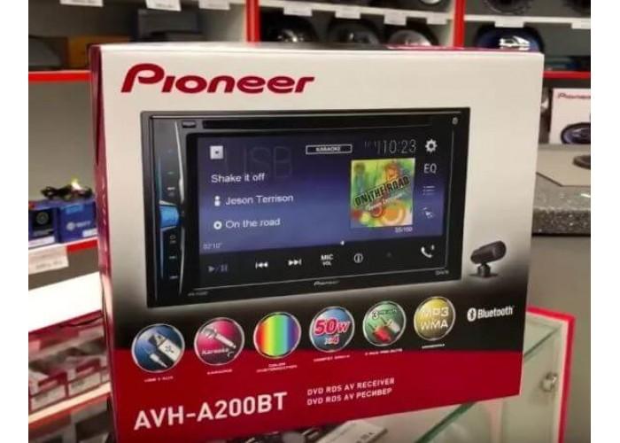 Автомагнитола PIONEER AVH-A200BT