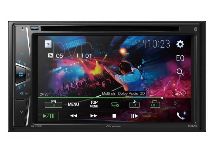 Автомагнитола PIONEER AVH-G210BT/ 2DIN DVD/USB