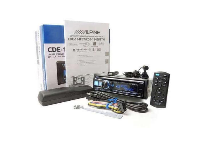 Автомагнитола ALPINE CDE-154EBT