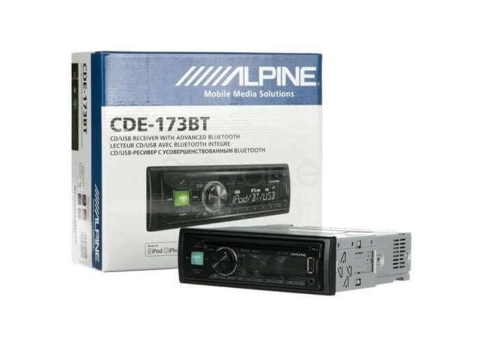 Автомагнитола ALPINE CDE-173BT