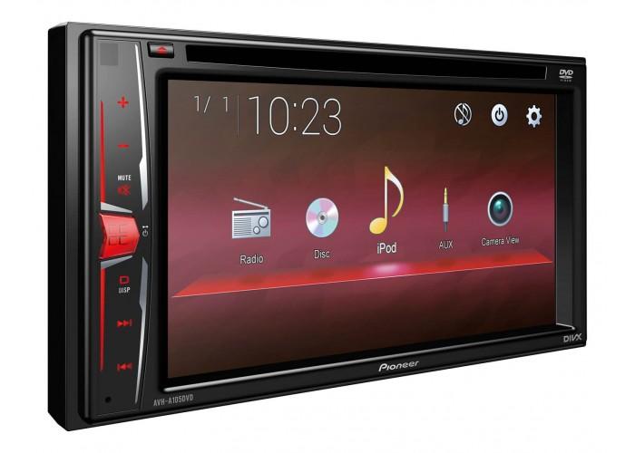 Автомагнитола Pioneer AVH-A105 DVD