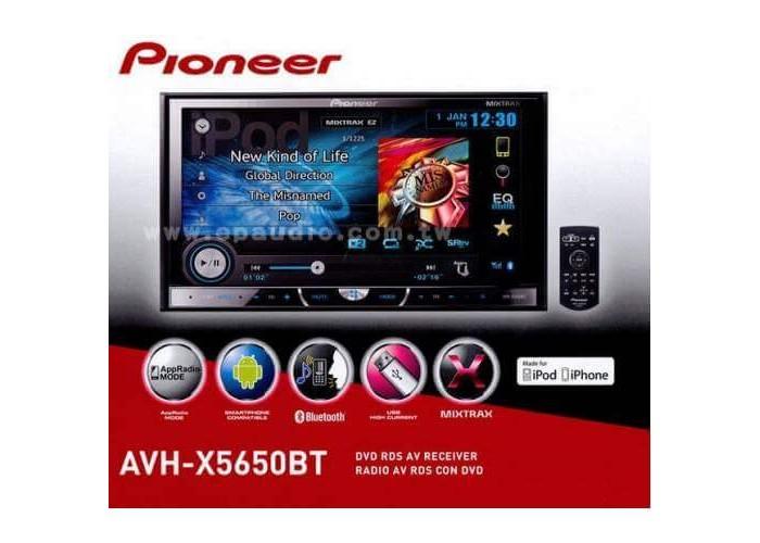 Автомагнитола PIONEER  AVH-X5650BT