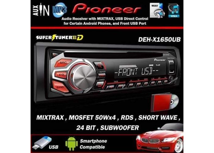 Автомагнитола PIONEER DEH-1650U