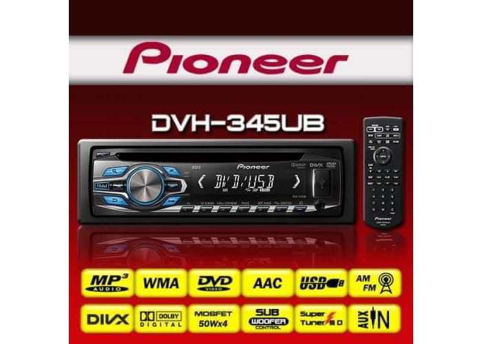 Автомагнитола PIONEER DVH-345U