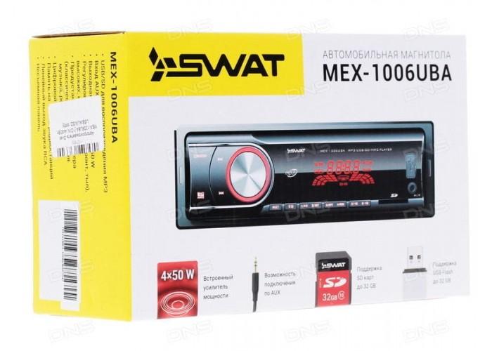 Автомагнитола SWAT MEX-1006UBA