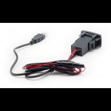 USB разъем в штатную заглушку Honda-Acura Carav 17-105