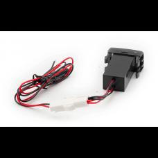 USB разъем в штатную заглушку Toyota-Lexus Carav 17-203