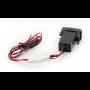 USB разъем в штатную заглушку Toyota-Lexus Carav 17-303