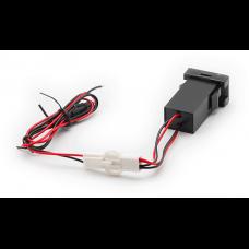 USB разъем в штатную заглушку Toyota-Lexus Carav 17-304