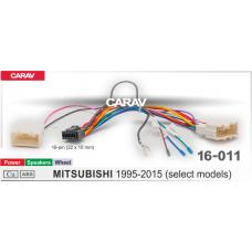 Комплект проводов CARAV 16-011 (16-pin) для подключения Android ГУ MITSUBISHI 1995-2015