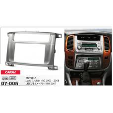 Переходная рамка carav 07-005 LEXUS LX-470 2002-2007