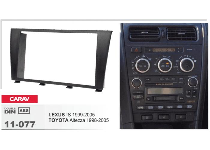 Переходная рамка Carav 11-077 TOYOTA Altezza 1998-2005, Lexus IS