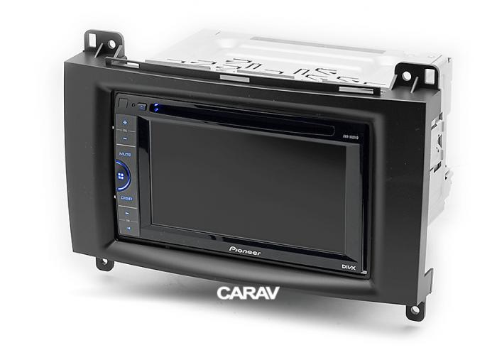 Рамка CARAV 11-133 2-DIN MERCEDES-BENZ A-klasse (W169) 2004-12 В-klasse (W245) 2005-11 Vito, Viano