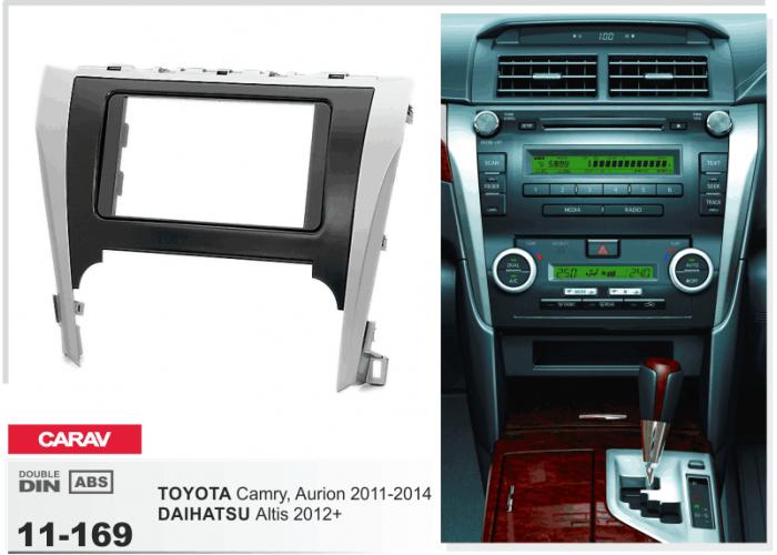 Переходная рамка Carav 11-169 TOYOTA Camry Aurion 2011-2014