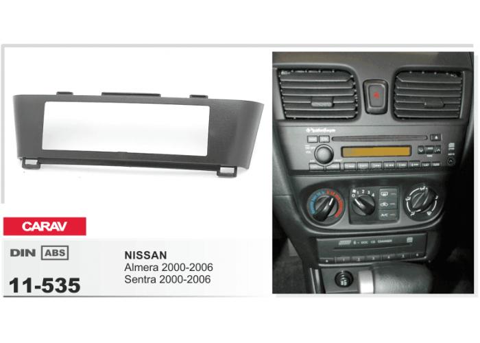 Переходная рамка Carav 11-535 NISSAN Almera, Sentra 2000-2006