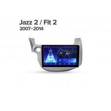"Магнитола + рамка TEYES для Honda Jazz 2 GG Fit 2 GE 2007-201410.2"""