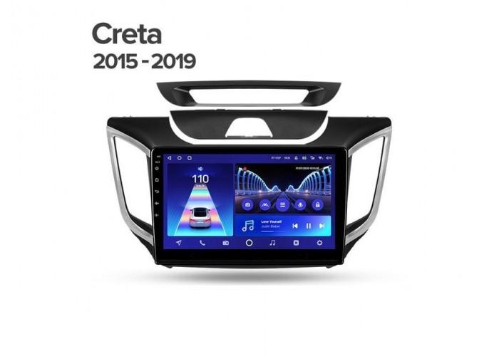"""Комплект для Hyundai Creta IX25 2015-2019 10.2"""". Выбирайте конфигурацию галочками"""