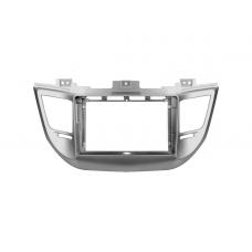 """Переходная рамка для магнитолы Hyundai Tucson 2 LM IX35 2009-2015 9"""""""