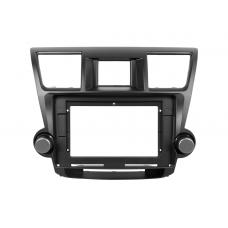 """Переходная рамка для магнитолы Toyota Highlander 2 XU40 2007-2013 10.2"""""""