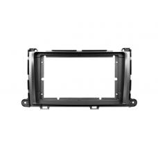 """Переходная рамка для магнитолы Toyota Sienna 3 XL30 2010-2014 9"""""""