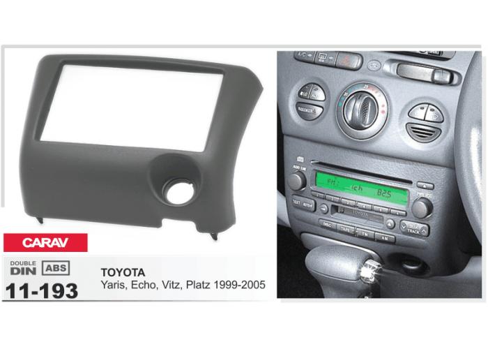 ПЕРЕХОДНАЯ РАМКА CARAV 11-193 2 DIN для Toyota