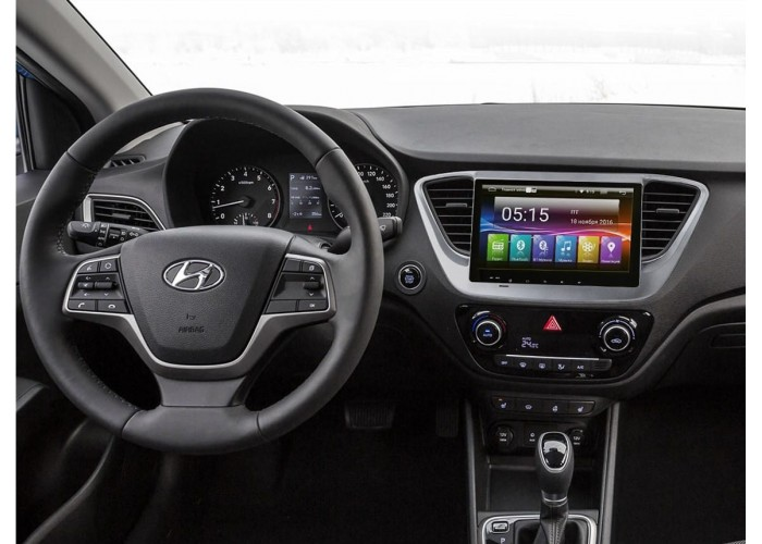 Штатная автомагнитола INCAR AHR-2469 Hyundai Solaris 2017+