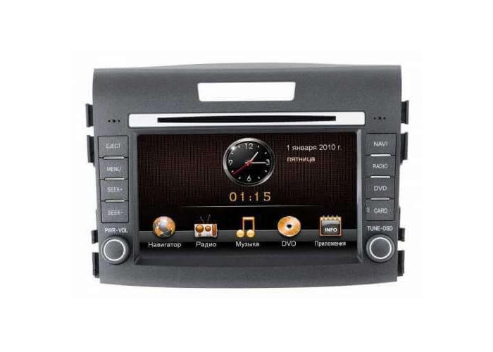 Штатная автомагнитола INCAR AHR-3689 для Honda CRV 2012