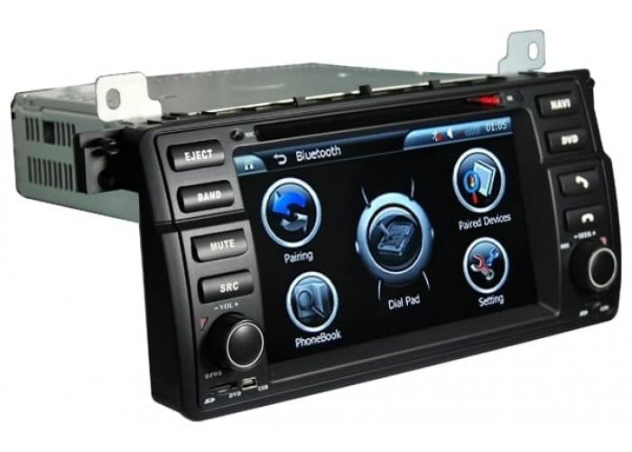 Штатная магнитола Globex 8788 для BMW E46