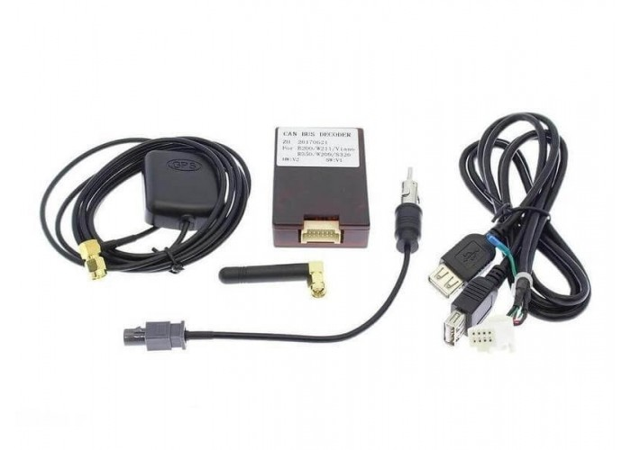 Штатное головное устройство CarWinta MB W639 2003-2015