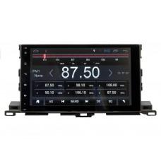 Штатное головное устройство CarWinta Toyota Highlander 2014-2018