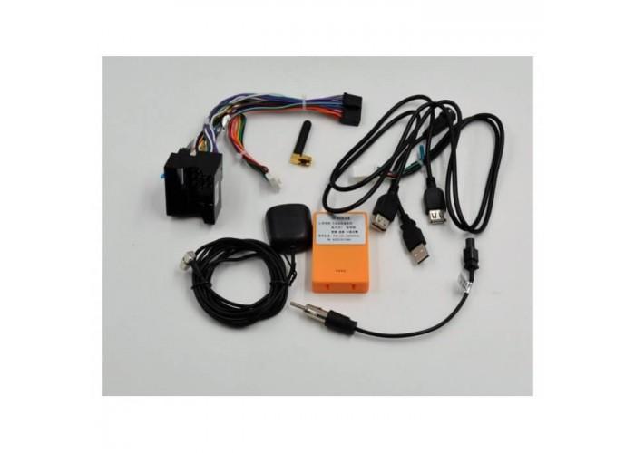 Штатное головное устройство CarWinta VW Touareg 2002-2009