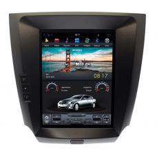 Штатное головное устройство Tesla Style  LEXUS IS 2006-2012 High Congfiguration