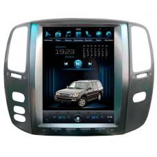 Штатное головное устройство Tesla Style  LX470 2004-2005