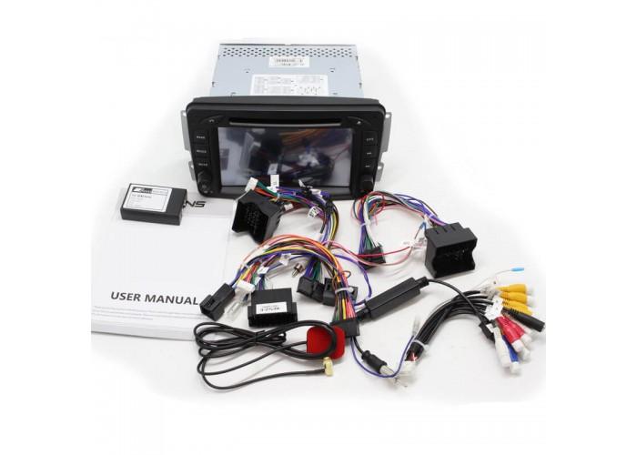 Штатная автомагнитола MB OLD CLASS W209