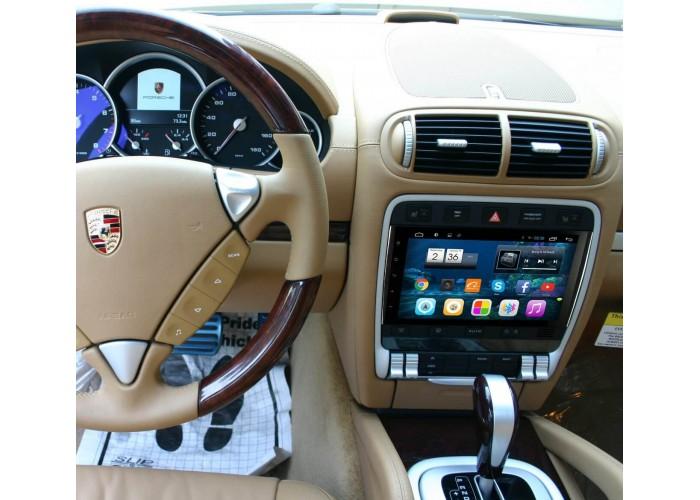 Штатное головное устройство Porsche Cayenne 2002